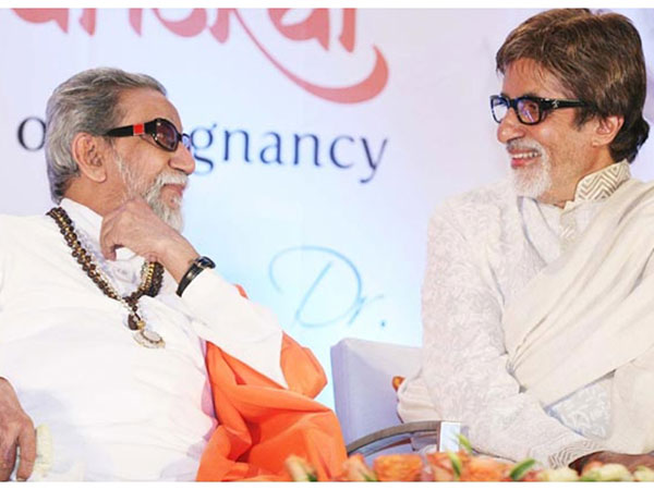 Amitabh Bachchan: Without Balasaheb Thackeray, I Would Not Have Been Alive Today