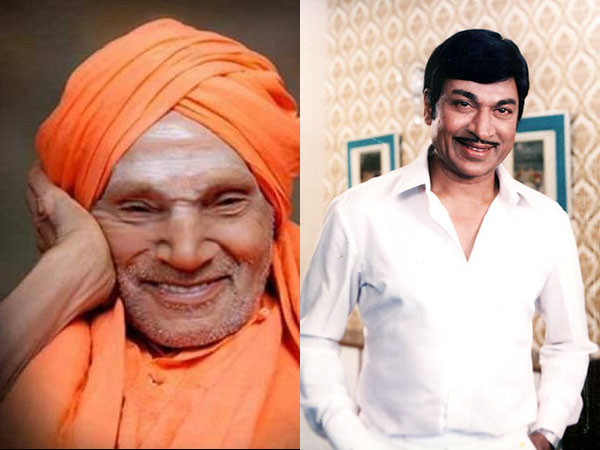 Dr Rajkumar & Sons Held A Very Special Relationship With Shivakumara Swamiji; PICTURES Are The Proof