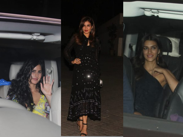 Sidharth Malhotra's Star-Studded Birthday Party; Katrina, Kriti Sanon, Raveena Tandon Attend!