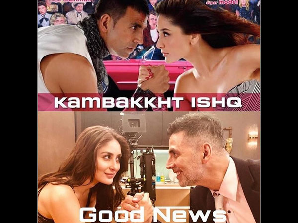 Akshay Kumar Gives 10 Year Challenge A 'Good News' Spin!