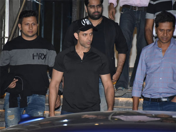 Hrithik's Wednesday Gym Look