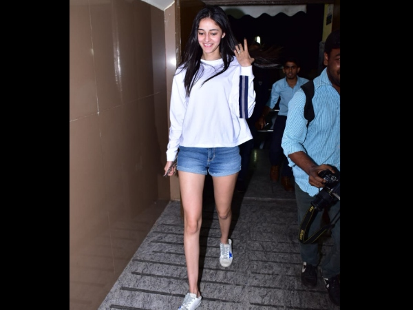 Ananya Pandey's Day At The Movies