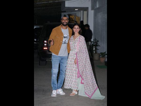 Alia Bhatt & Vicky Kaushal Snapped! The Raazi Co-Stars Reunite At Uri Special Screening