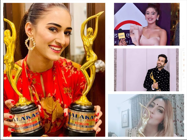 Kalakar Awards 2019: Erica Fernandes, Nakuul Mehta, Arshi Khan, Shivangi Joshi & Others Bag Awards