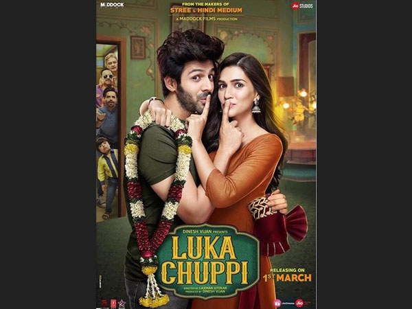 Luka Chuppi First Poster: Kartik Aaryan & Kriti Sanon Will Leave You Curious About The Film!