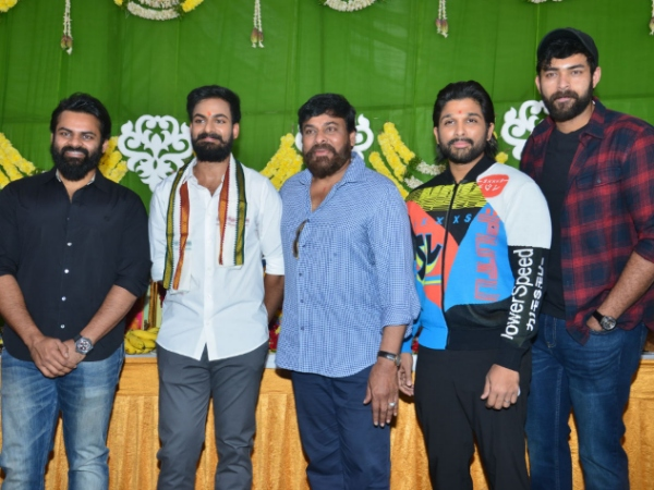 Vaishnav Tej Debut Movie Launch: Chiranjeevi, Allu Arjun, Varun Tej & Others Attend The 'Mega' Event