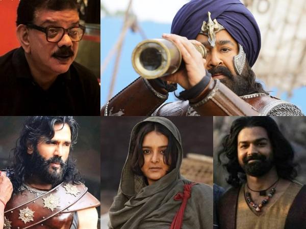 Mohanlal's Marakkar Arabikadalinte Simham: Meet The Cast & Crew Members!
