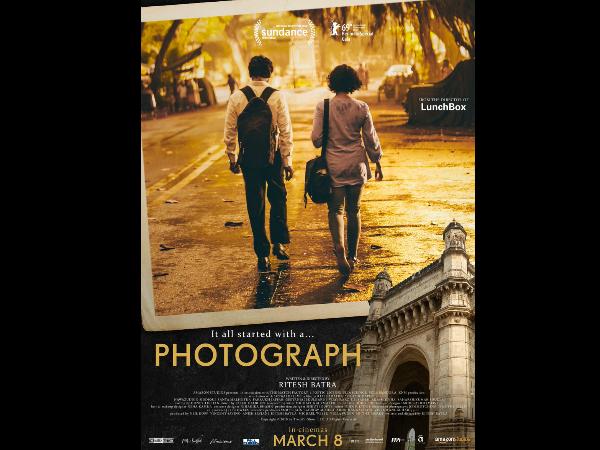 Photograph Teaser Poster: Nawazuddin Siddiqui- Sanya Malhotra Walk Together On A  Lonely Street