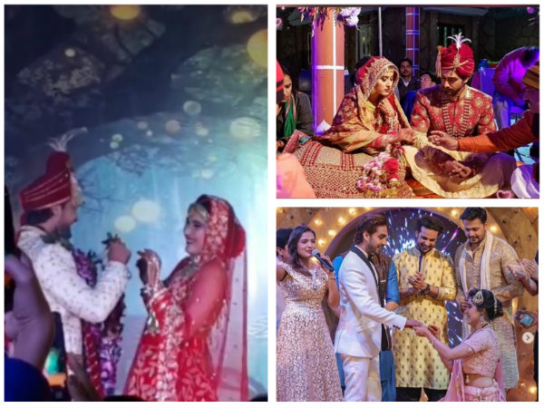 Sheena Bajaj & Rohit Purohit's Wedding Was A Dreamy Affair! (Inside Pictures)