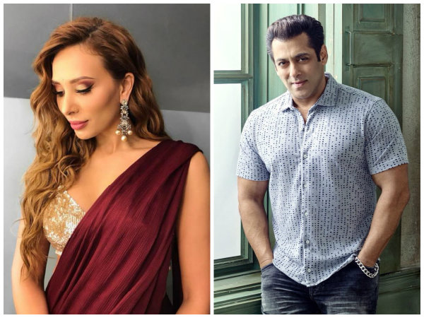 Image result for Salman Khan With Iulia Vantur