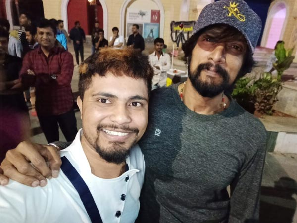 Pratham Chills With Sudeep