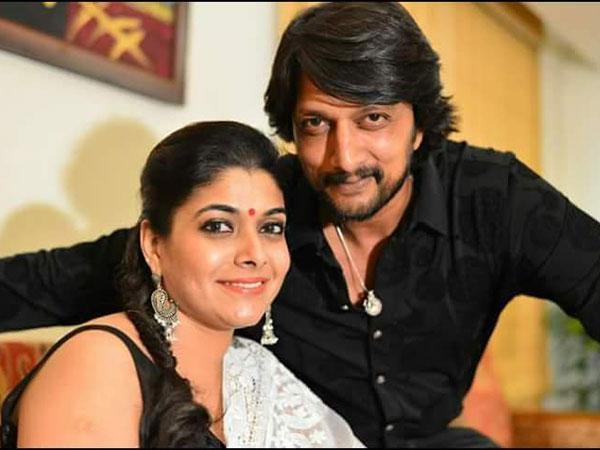Sudeep's Adorable Message For Wife Priya As She Congratulates Him On