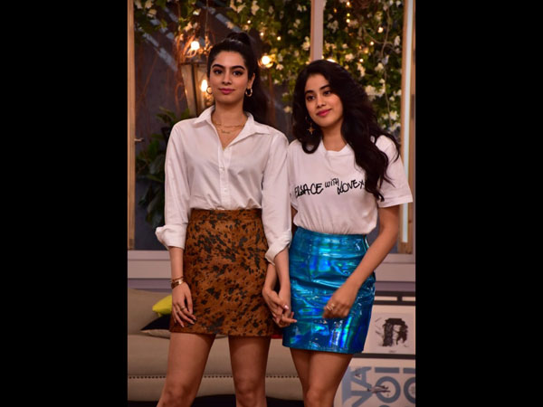 Janhvi & Khushi Kapoor Stun Us With Their 80s Glam Avatar On Neha Dhupia's Chat Show