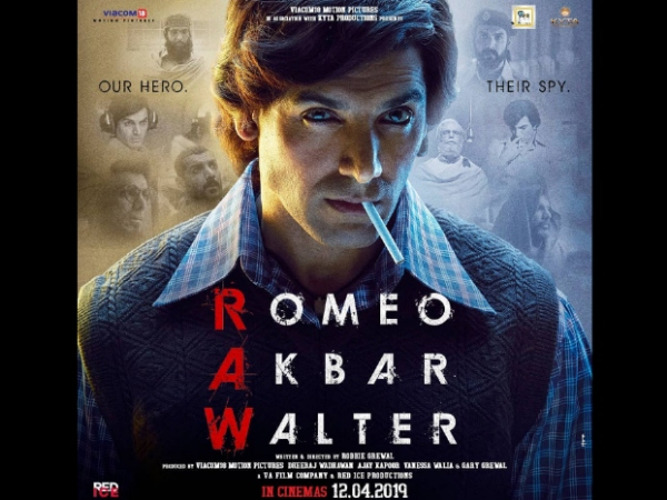 John Abraham Will Give You Retro Feels In Romeo Akbar Walter's First Poster!