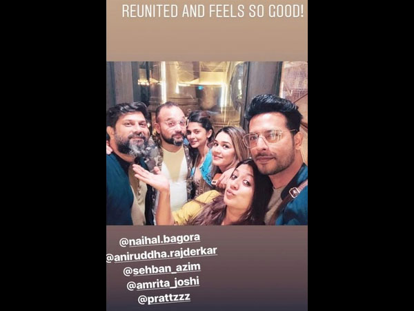 Bepannaah Actors Jennifer Winget & Sehban Azim's Reunion