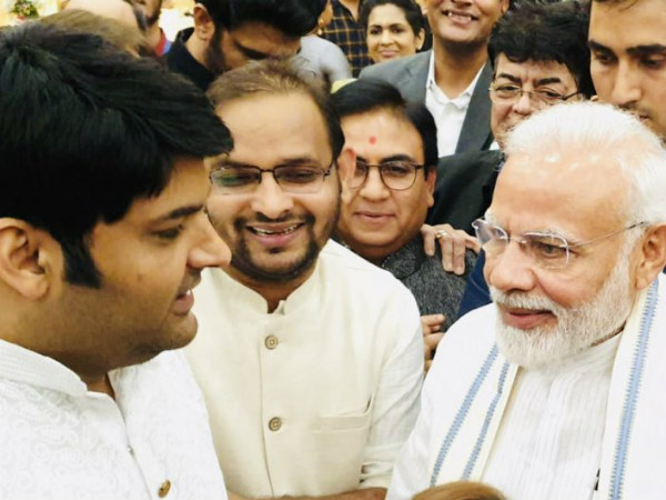 Kapil Sharma Praises PM Narendra Modi For His 'Great Sense Of Humour'; Here's How Modi Ji Responded!