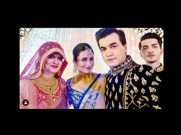 Divyanka's Special Wish For Mohsin's Sister On Her Wedding