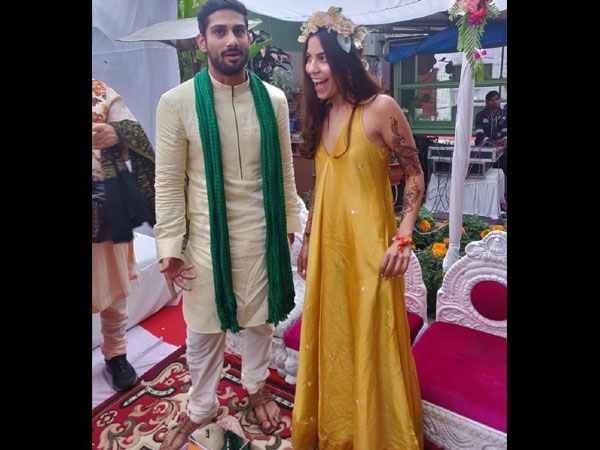Prateik Babbar- Sanya Sagar's Mehendi & Haldi Ceremony: These Dreamy Pics Are Not To Be Missed!