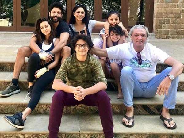 Apparently Farhan's Kids Have Warmed Up To Shibani