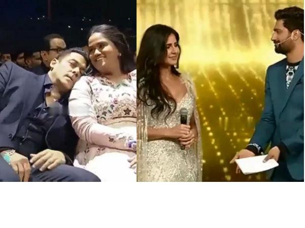 Vicky Kaushal 'Proposes' to Katrina Onstage, Salman Khan Reacts