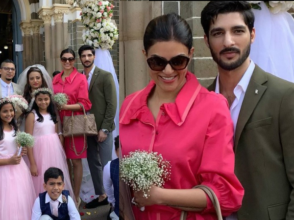 Sushmita Sen And Her Beau Rohman Shawl Drop Major Couple Goals At A Friend's Wedding [PICS]