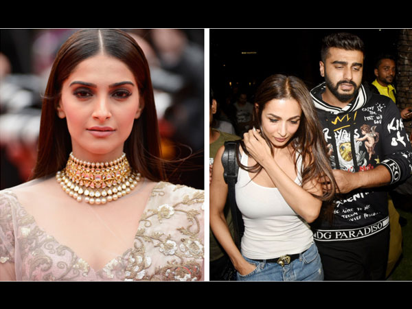 Sonam Kapoor Unhappy With Arjun Kapoor & Malaika Arora's Affair; Is Against Their Marriage?