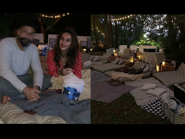Shibani Dandekar Surprises Farhan Akhtar With A Romantic Date Night On His Birthday! [PICS]