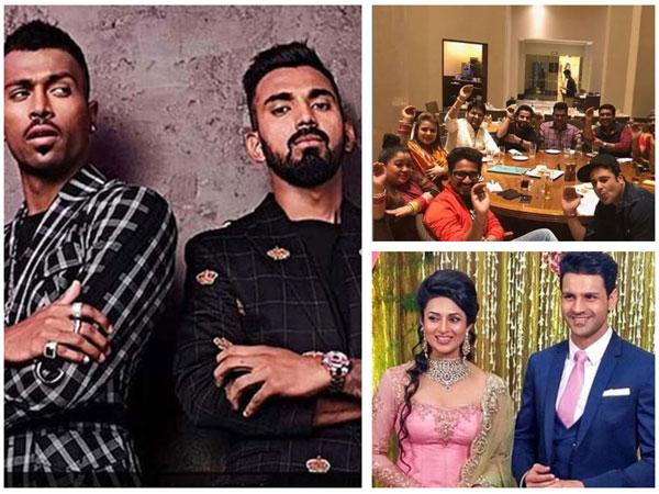 TV Snippets: Sreesanth Reacts To Hardik-Rahul Row; Kapil-Ginni's First Lohri Post Wedding & More!