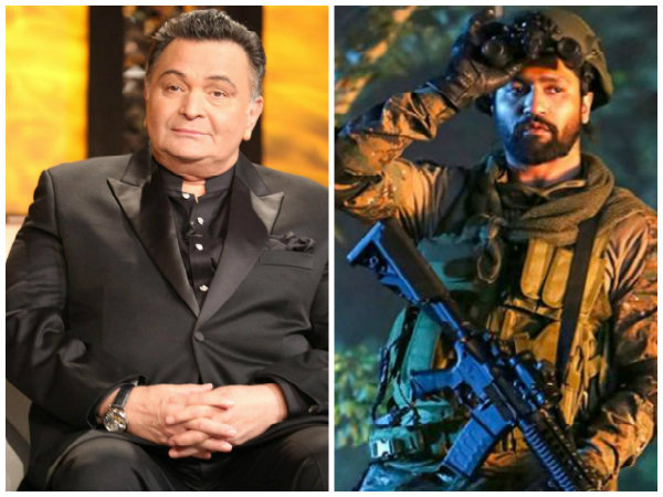 Uri: The Surgical Strike Is The BEST Movie Ever Made In India, Says An Excited Rishi Kapoor