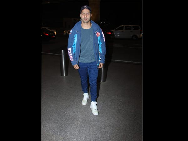 Varun Snapped At The Airport