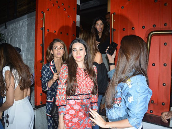 Celebs Leave After Having A Good Time At The Party
