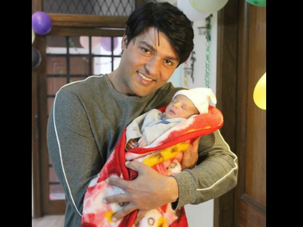 Anas Rashid Shares His Baby Girl's Picture; Says Aayat Has Brought A Lot Of Happiness In His Life!