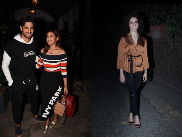 MOST READ: Sidharth Malhotra & Parineeti Chopra Snapped At A Popular Club; Sanya Malhotra'c Chic Look