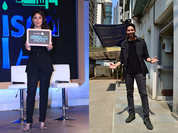 Kareena Kapoor Khan Attends Swasth Immunized India Campaign; Gully Boy Siddhant Chaturvedi Snapped