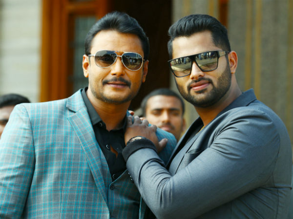 Darshan Welcomes Brother Abhishek To Sandalwood Amar Trailer Out On Valentine Day