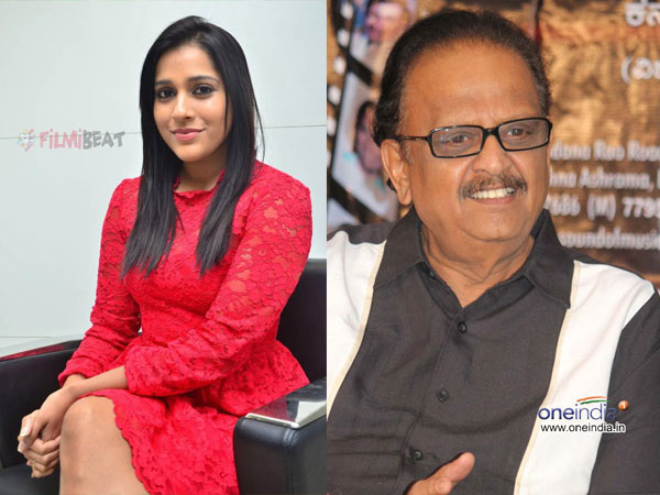 Rashmi Gautam Takes A Dig At Sp Balasubrahmanyam With Her Cleavage Comment