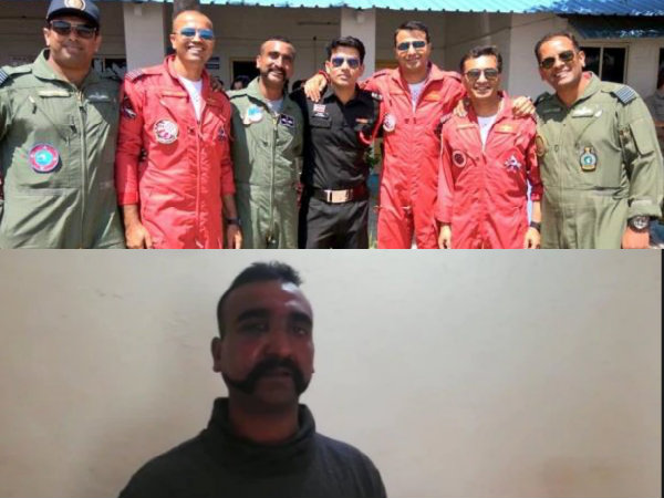 The Nation Stands With IAF Commander Abhinandan Varthaman