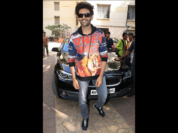 Kartik Aaryan Promoted Luka Chuppi At The National College