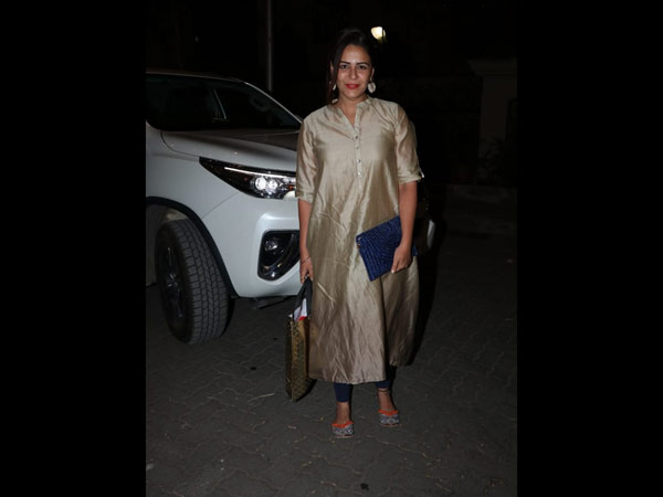 Mona Singh Looked Pretty At The Ceremony