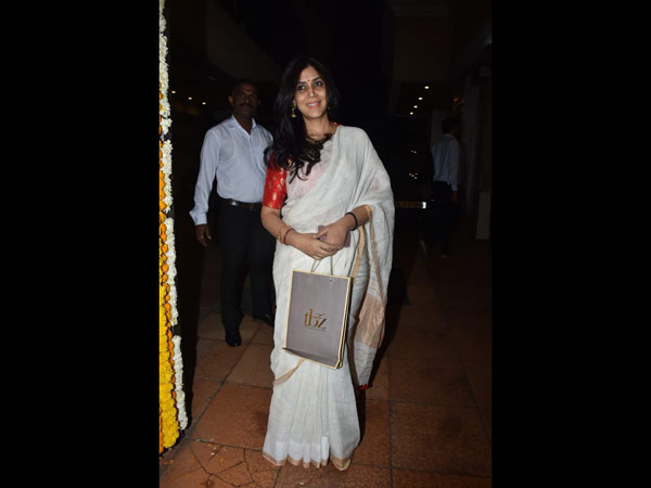 Sakshi Tanwar Attended The Baby's Naming Ceremony