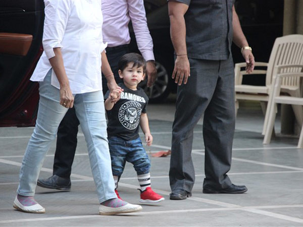 Taimur Goes To His Play School