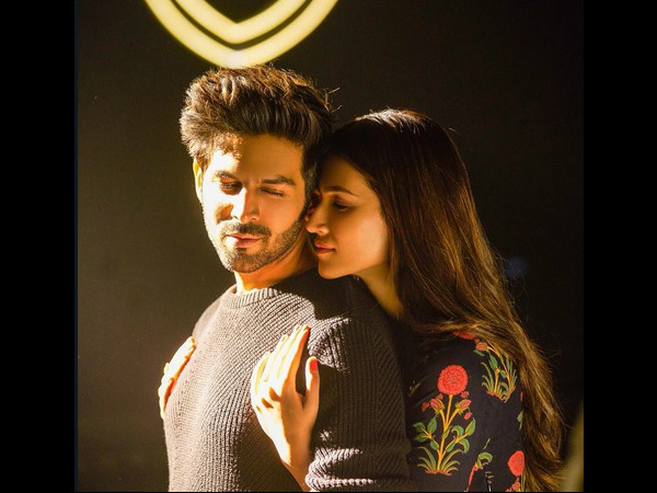 Luka Chuppi Song Photo Kartik Aaryan Kriti Sanon Tug Your