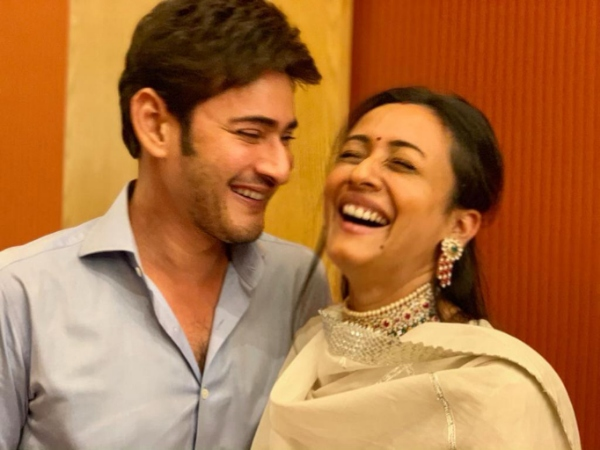 Mahesh Babu Wishes Namrata Shirodkar On Their Anniversary With This Epic Post