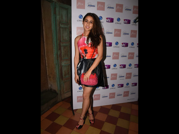 Sara Ali Khan Looked Fabulous At Namrata Purohit's Song Launch
