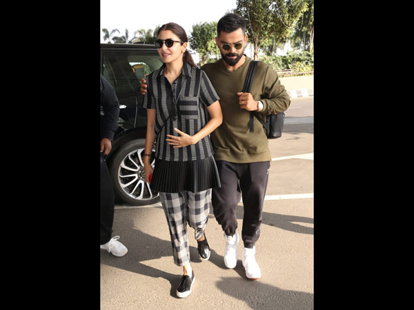 Virushka Arrive In Style At The Airport