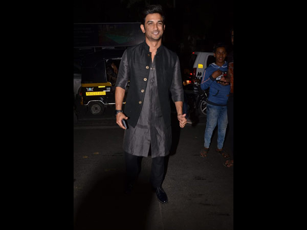 Sushant Singh Rajput Opted For An Ethnic Look For The Event