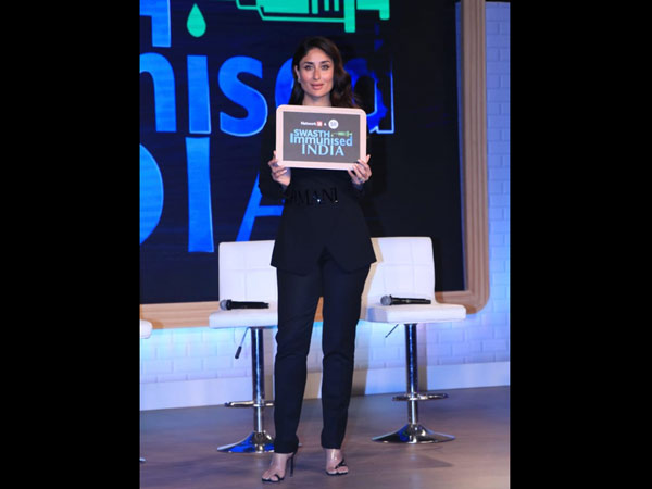 Kareena Kapoor Khan Is The Brand Ambassador Of Swasth Immunized India Campaign
