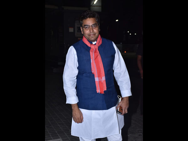 Ashutosh Rana Attends The Screening Of Sonchiriya