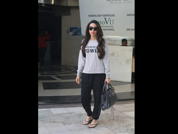 Karishma Kapoor Was Out And About In The City In A Casual Avatar