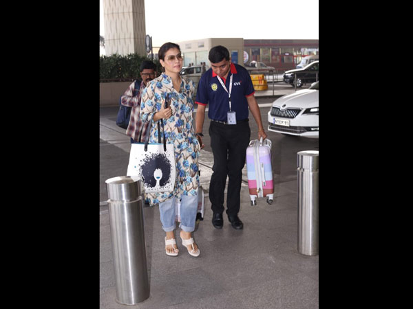 Kajol's Laid Back Airport Look